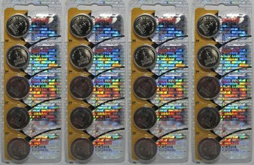 20 Maxell Batteries Cr2016 3v Lithium, New hologram packaging that guarantees authenticity