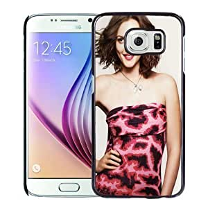 New Personalized Custom Designed For Samsung Galaxy S6 Phone Case For Beautiful Leighton Meester Phone Case Cover