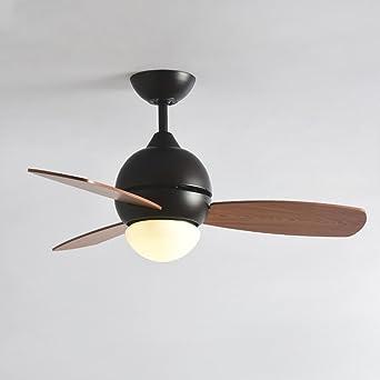 Las Lámparas De Ventilador Nórdico Simple Moderna Sala De Estar En ...
