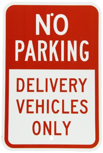 Where to find delivery parking only sign?