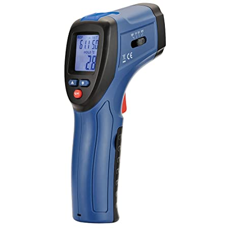 CEM DT-8666 Thermal Leak Detector with Audible Alarm -50 to 380 -58 to 716