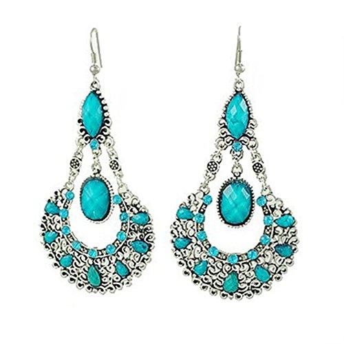 Fashion Chandelier Earrings For Women BoHo Dangle Indian Earrings EAG080 (Boho-1)