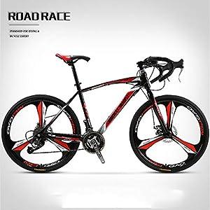 51ZtJU2el7L. SS300 JXH 26 Pollici Bicicletta della Strada, 27 Connessione Biciclette, Doppio Disco Freno, Acciaio al Carbonio Telaio…