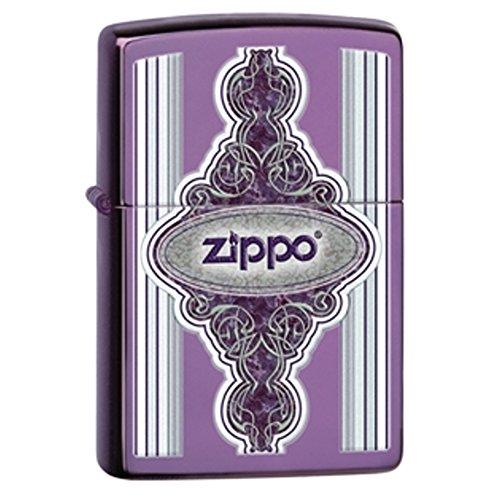 Zippo Frame - Zippo Lighters 28866 Vintage Frame Abyss Finish Lighter