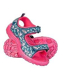 Mountain Warehouse Sand Girls Sandals - Neoprene Kids Flip Flops