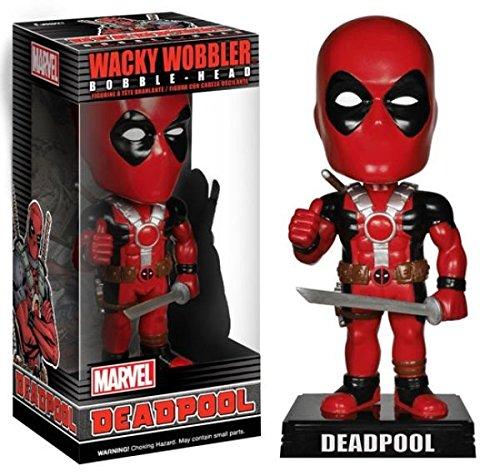 Funko Wacky Wobbler: Marvel - Deadpool Bobble-Head