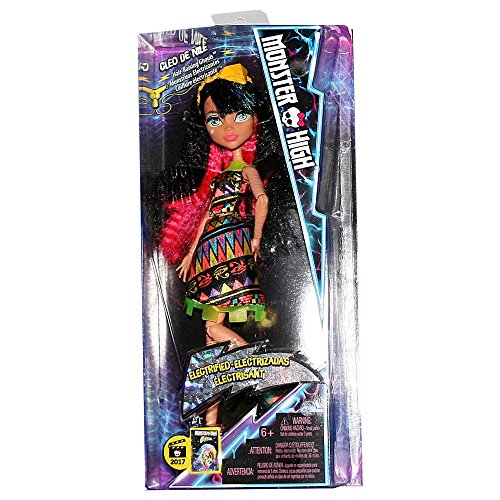 (Monster High Electrified Ghoul Cleo De Nile)