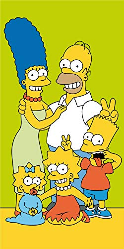 Simpsons Towel - The Simpsons Family Bath Beach Towel