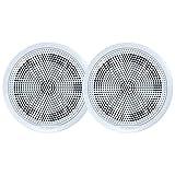 Fusion El-F651w El Series Full Range Shallow Mount Marine White Speakers - 6.5''