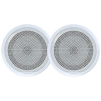 Fusion El-F651w El Series Full Range Shallow Mount Marine White Speakers - 6.5