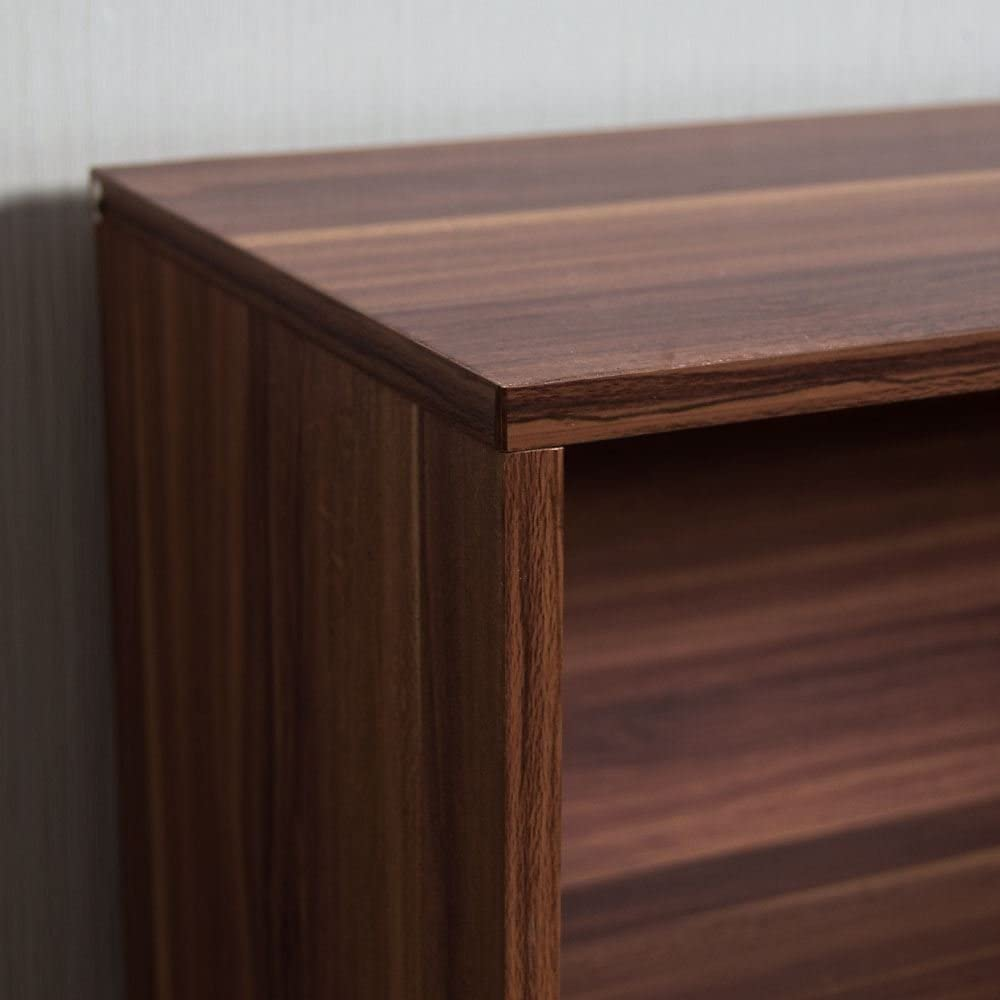 Unidad de Almacenamiento estanter/ía de Madera Negra Vida Designs Cambridge Estanter/ía Baja de 3 Niveles Mueble de Oficina y Sala de Estar