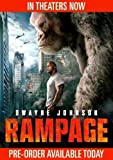 Rampage (DVD 2018) NEW Action Adventure