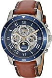 Fossil Men's ME3140 Grant Sport Automatic Luggage Leather Watch (Small image)
