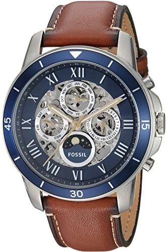 Fossil Men's ME3140 Grant Sport Automatic Luggage Leather Watch (Large Image)