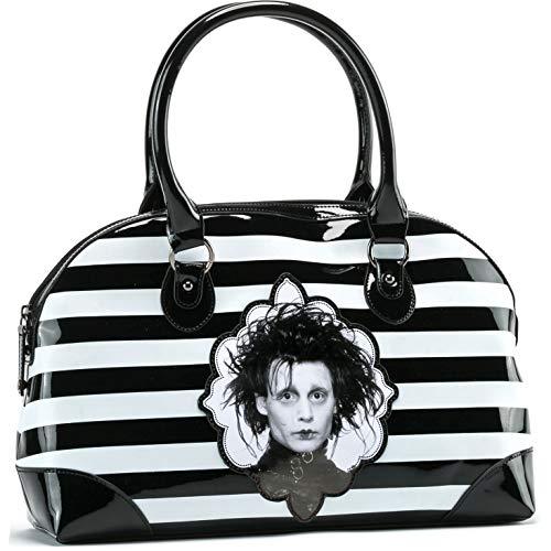 Edward Scissorhands Women's Edward Scissorhand Handbag Girls Handbag Black]()
