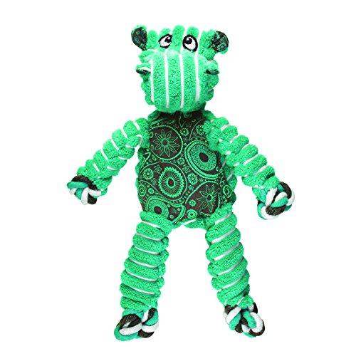 KONG Floppy Knots Hippo, Dog Toy, Small/Medium