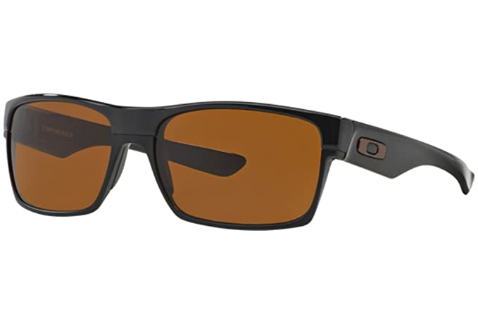 15a55266e7 Image Unavailable. Image not available for. Colour  OAKLEY TWOFACE OO9189-03  POLISHED BLACK W  DARK BRONZE LENS