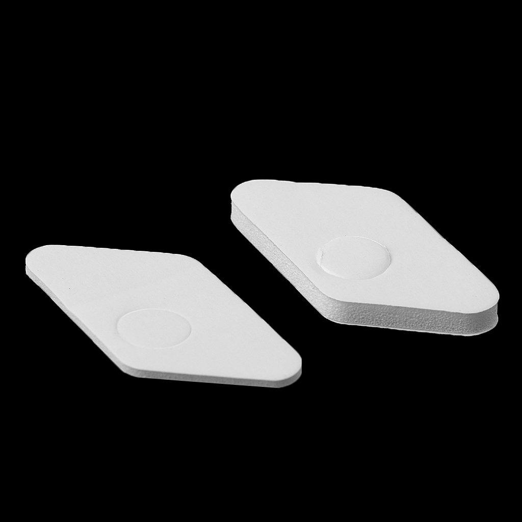 CUTICATE 2 Pezzi Arco Ricurvo in Plastica Freccia Resto Strumento Adesivo Tiro con LArco Accessorio Bianco
