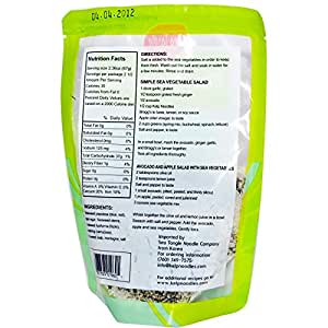 Sea Tangle Noodle Company Mixed Sea Vegetables 6 oz 170 g