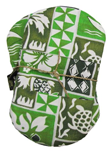 Hawaiian Maui Microwave Oven Mitts Green 3 Sets by Maui Micro Mitts