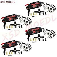 XSD MOEDL EMAX XA2212 820KV Brushless Motor w/Simonk 20A ESC and Prop Adapter for DJI F450 F550 RC Quadcopter Part