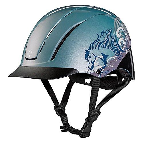 (Troxel Spirit Performance Helmet, Sky Dreamscape, Small)