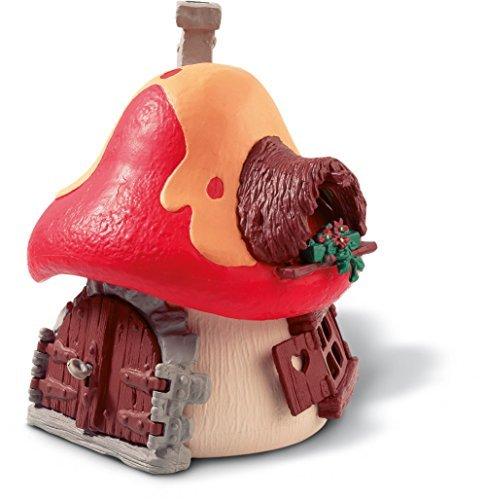 Smurf Mushroom (Schleich Schleich Smurfs mushroom house 49001)