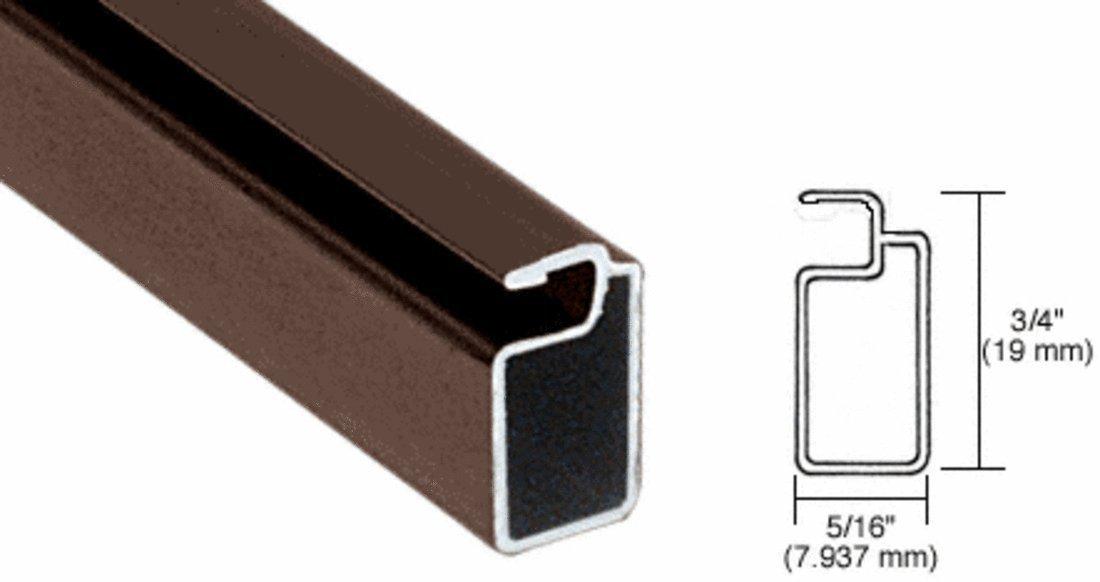 CRL Bronze 3/4'' x 5/16'' Extruded Screen Frame