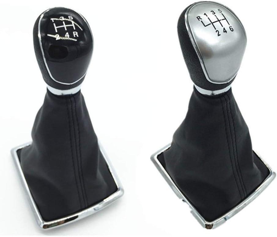 pour Ford Fiesta MK7 Mise Au Point FL NK3 MK2 C-Max FL B-Max S-Max Galaxy MK3 Kuga Transit 5//6 Combinaison De Vitesse /Étui De Protection Vitesse b/âton Pommeau de Levier de Vitesse Cover H