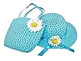 M_Eshop Tea Party Hat Purse Set (Turquoise)