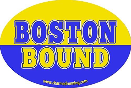 Charmed Running Boston Bound 26.2 Marathon Car - Boston Running Stores