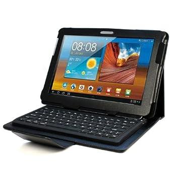 Funda con teclado Bluetooth para Samsung Galaxy Tab 10.1