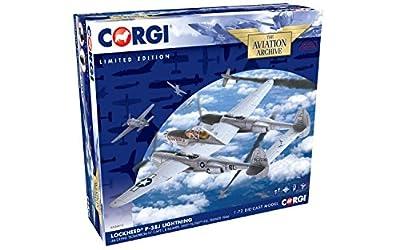 Corgi Lockheed P-38J Lightning 'Scrap Iron IV' 1:72 Diecast Aviation Archive