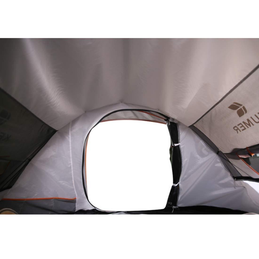 Igspfbjn Winddichtes Zelt Zelt Zelt 3 Personen oder 4 Personen (Farbe   braun) B07KXFPMV2 Zelte Modebewegung 44a589