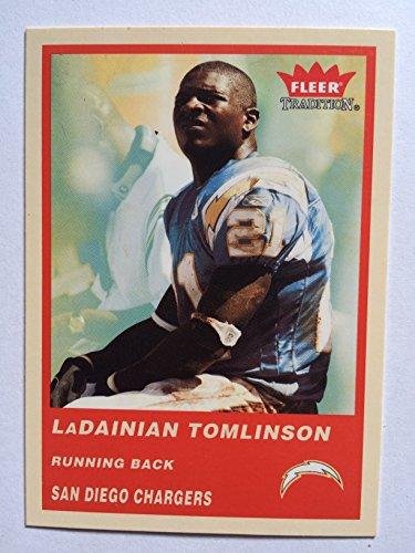 2004 Fleer Tradition Football 71 LaDainian Tomlinson NM/M (Near Mint/Mint)
