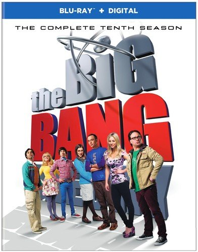 Blu-ray : The Big Bang Theory: The Complete Tenth Season (2 Pack, Slipsleeve Packaging, 2 Disc)