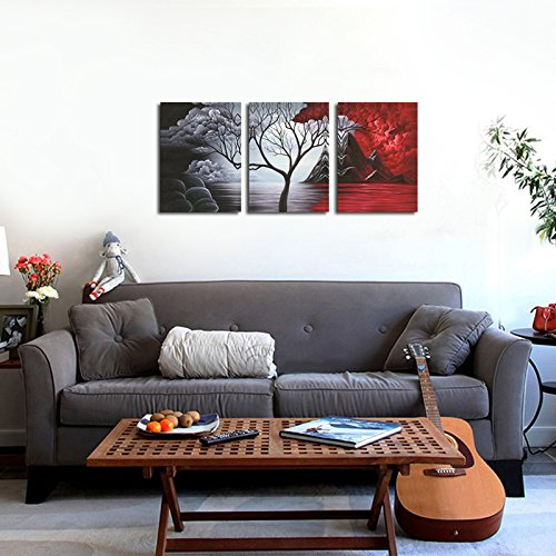 Wieco art the cloud tree wall art oil paintings giclee for Home decor uae