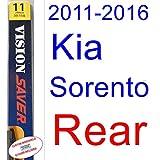 2011-2016 Kia Sorento Wiper Blade (Rear) (Saver Automotive Products-Vision Saver) (2012,2013,2014,2015)