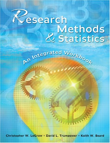 RESEARCH METHODS AND STATISTICS: AN INTEGRATED WORKBOOK