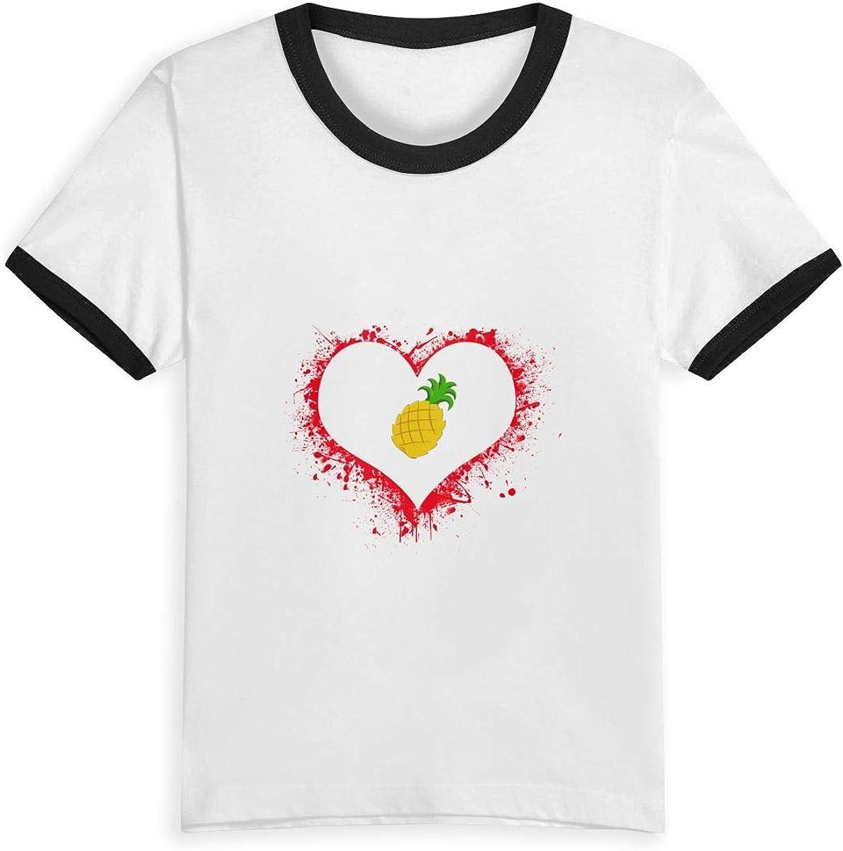 NAHSUX Design Name Childrens Short Sleeve for Children Kids Unisex Fashion Cute
