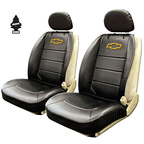 - Yupbizauto Plasticolor New Pair Universal Sideless Seat Cover w/HeadRest Compatible to a Chevy Car and Air Freshener