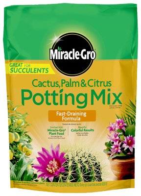 Miracle Gro Cactus, Palm and Citrus Potting Soil Mix (5)