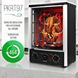 Nutrichef Upgraded Multi-Function Rotisserie Oven