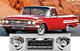 1959-1960 Chevrolet Impala - El Camino - Bel Air USA-630 II High Power 300 watt AM FM Car Stereo/Radio with AUX Input, USB Input, iPod Docking Cable. No modifications to original dash required.