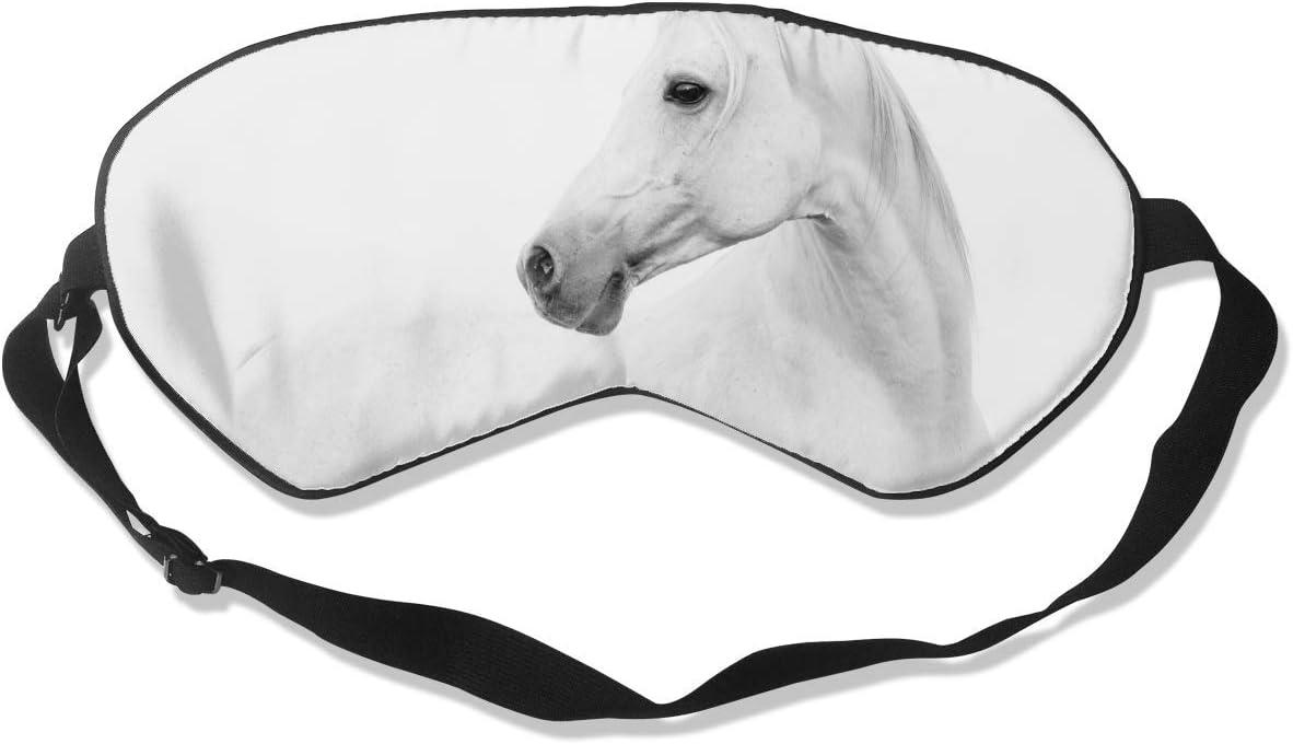Antifaz para dormir para mujeres y hombres, caballo árabe en altura, máscara para dormir, máscara para ojos ultra suave y transpirable para dormir, sombra de ojos opaca para una oscuridad completa