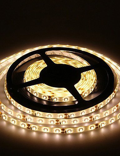 5M 300X3528 Smd Warm White Led Strip Light and Connector ...