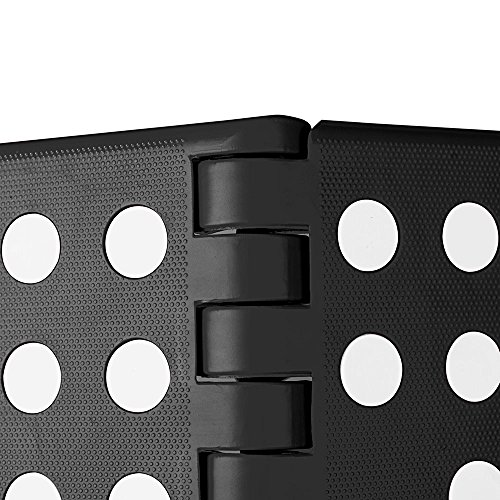 Acko Black 18 Inches Non Slip Folding Step Stool for Kids and Adults with Handle by Acko (Image #3)