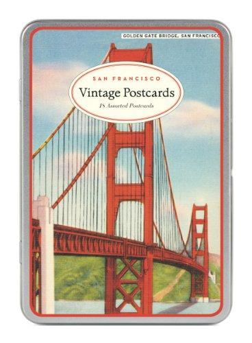 Cavallini San Francisco Carte Postale, 18 Postcards per Tin by Cavallini & Co.