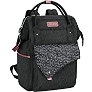 KROSER Laptop Backpack 15.6 Inch Stylish School Computer Backpack Wide Open College Daypack Water-Repellent Travel…