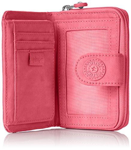 Portefeuille 5x3 Rose 9 Money Kipling Cm New Pink city Femme 5x12 TxEpxBqW